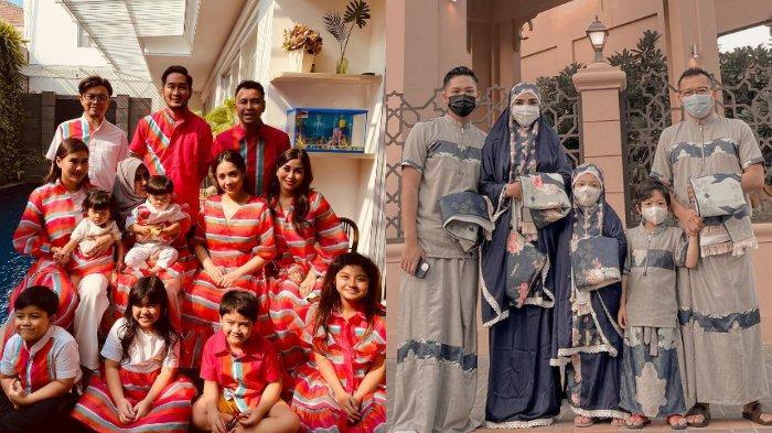 7 Potret Artis Kompak Berseragam saat Lebaran: Raffi Ahmad, Ayu Ting Ting, hingga Ashanty