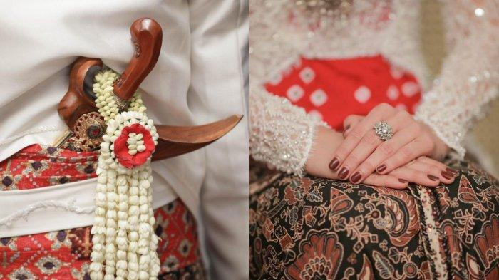 potret detail pernikahan Tata Janeeta