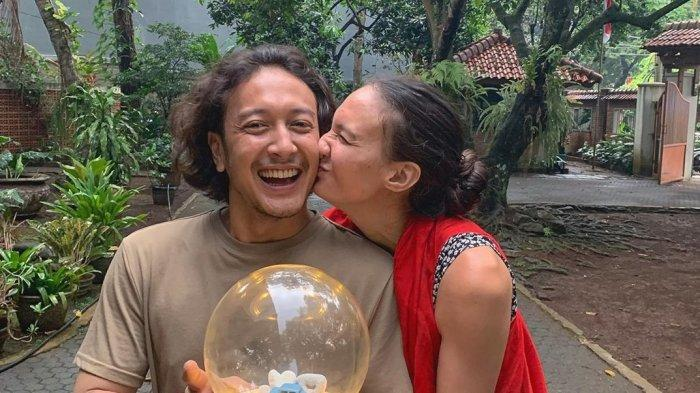 Dimas Anggara-Nadine Chandrawinata Rayakan Lebaran dan Kenaikan Isa Almasih Bersama