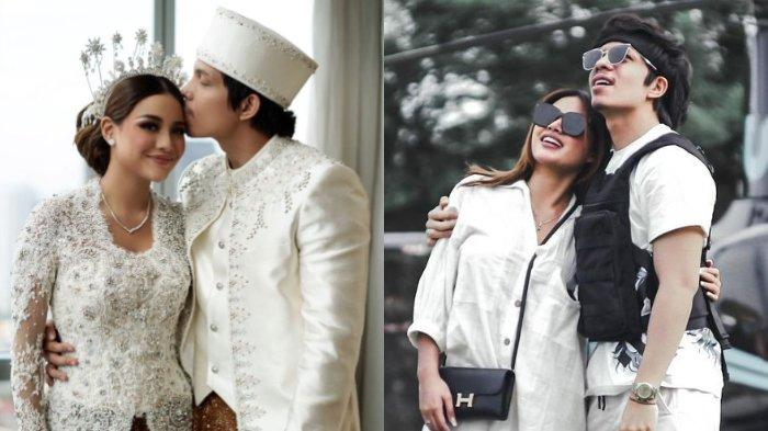 Potret momen bulan madu pasangan Aurel Hermansyah dan Atta Halilintar.
