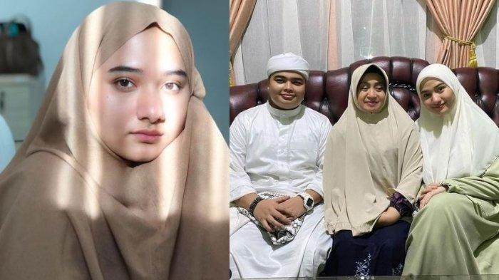 Potret Nadzira Shafa Kekasih Ameer Azzikra (kiri). Momen lamaran keduanya