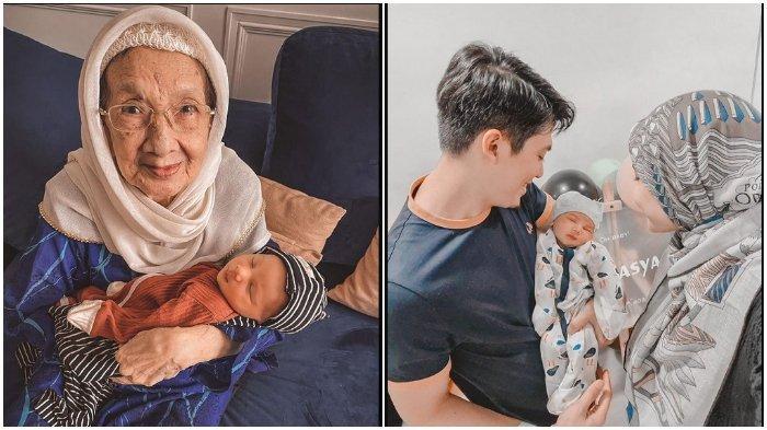 Potret Nenek Irwansyah saat Gendong Ukkasya, Zaskia Sungkar: Tiap Tahun Elus Perut Sambil Doain