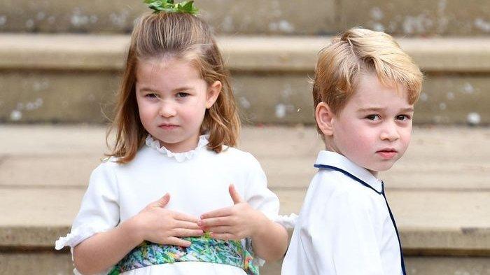 Pesan Manis Pangeran George dan Putri Charlotte untuk Lady Diana di Hari Ibu: Papa Merindukanmu