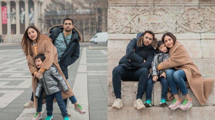 Potret Raffi Ahmad dan Nagita Slavina berlibur di Hungaria.
