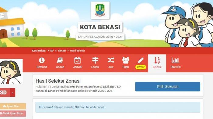 Login Bekasi Siap Ppdb Com Daftar Ulang Ppdb Bekasi Sd Dan Smp Sampai 8 Juli Simak Panduannya Tribunnews Com Mobile
