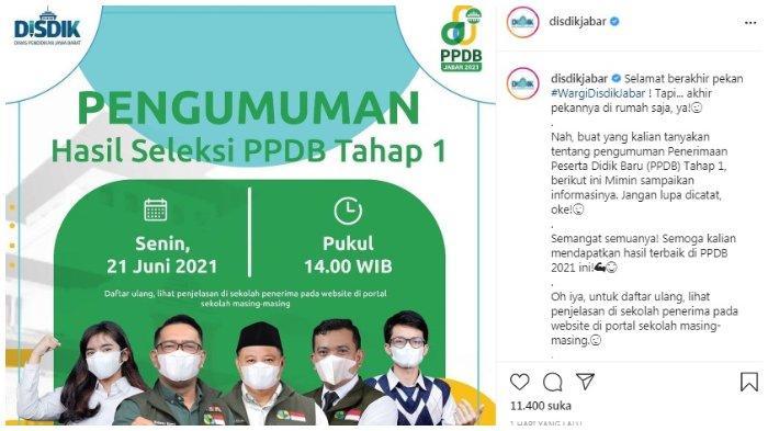 PPDB Jabar 2021.