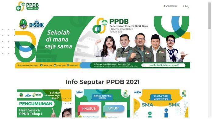 Cara Cek Pengumuman PPDB Jabar 2021 Tahap 1, Segera Akses ppdb.disdik.jabarprov.go.id