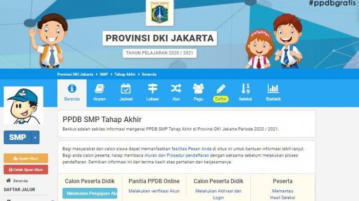 Pendaftaran PPDB Jakarta Tahap Akhir Ditutup Hari Ini, Rabu 8 Juli Pukul 15.00 WIB, Ini Ketentuannya