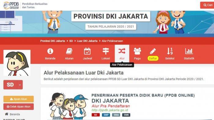 PPDB Jakarta 2020 Jalur Prestasi Dibuka, Akses ppdb.jakarta.go.id, Berikut Tata Cara Pendaftarannya
