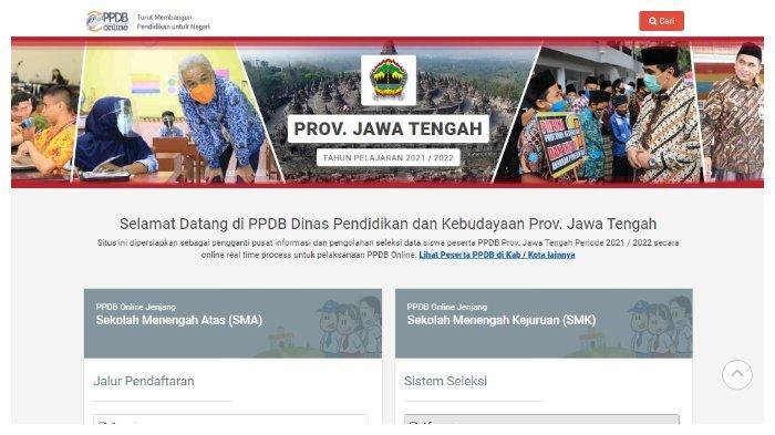 Jadwal Pengumuman PPDB Jateng 2021 Jenjang SMA dan SMK, Berikut Cara Cek Hasil Seleksinya