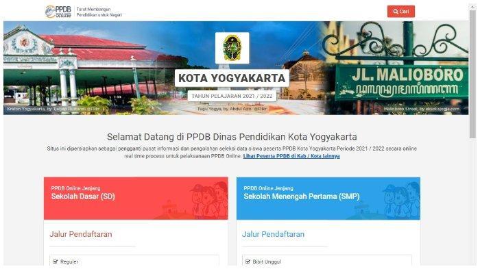 Pendaftaran PPDB Jogja 2021 untuk SMP Dibuka, Berikut Ketentuan dan Alur Pelaksanaannya
