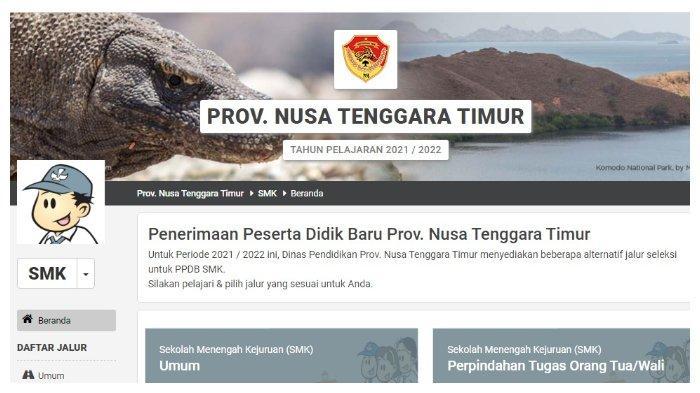 Cara Cek Pengumuman PPDB NTT 2021 Jenjang SMA/SMK, Akses Link ntt.siap-ppdb.com