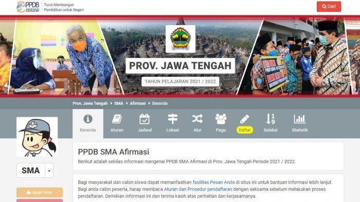 PENDAFTARAN PPDB Online SMA/SMK Jateng 2021 Ditutup 24 Juni, Segera Akses ppdb.jatengprov.go.id