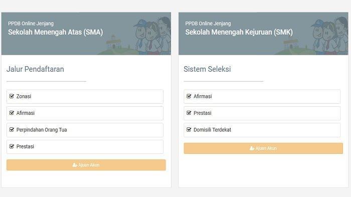 PPDB SMA/SMK Jateng 2021