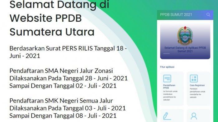 Pendaftaran PPDB Sumatera Utara Jenjang SMA Dibuka 28 Juni 2021, Ini Jadwal & Syarat Daftarnya