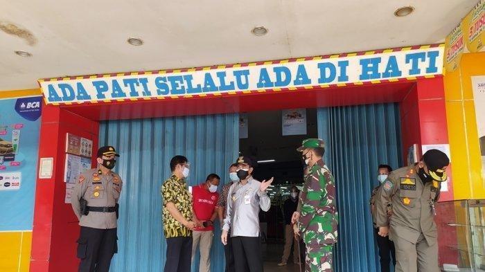 PPKM Darurat, Bupati Haryanto Cek Langsung Pusat Perbelanjaan dan Tempat Karaoke di Pati