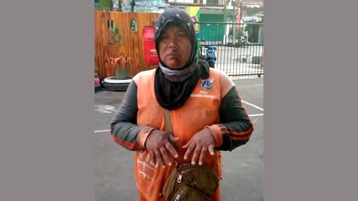 Kisah Sedih Petugas PPSU Sudriyah, Jatuh Tersungkur ke Aspal karena Aksi Biadab Jambret