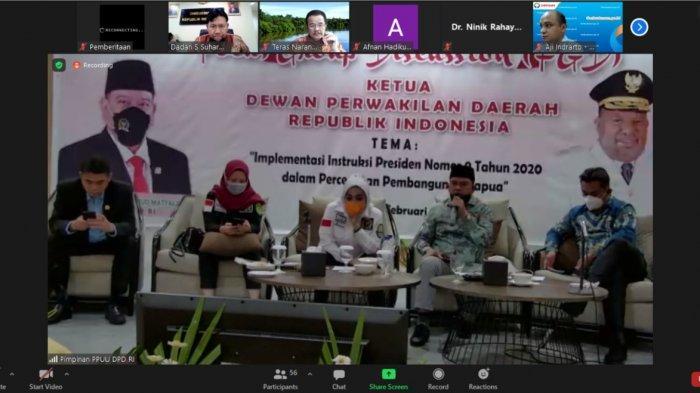 PPUU DPD RI Bahas Penguatan Pengawasan Ombudsman Atas Penyelenggaraan Pelayaan Publik