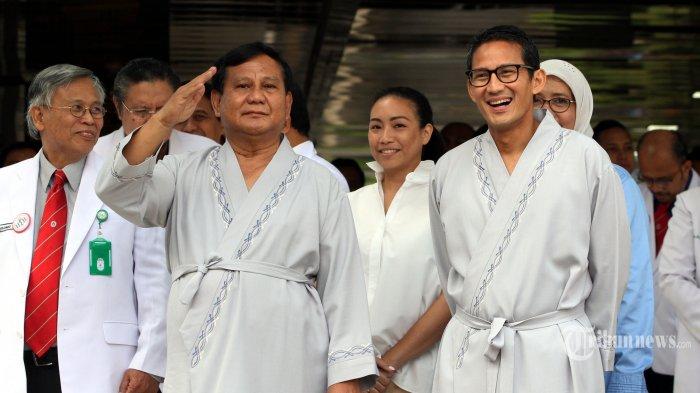 Pakar Feng Shui Bicara Peluang Prabowo-Sandi di Pilpres, Ini Katanya