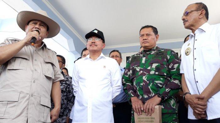Menhan Prabowo Minta Maaf ke 238 WNI dari Wuhan di Natuna, Menyesal Cuma Bisa Sapa dari Bus