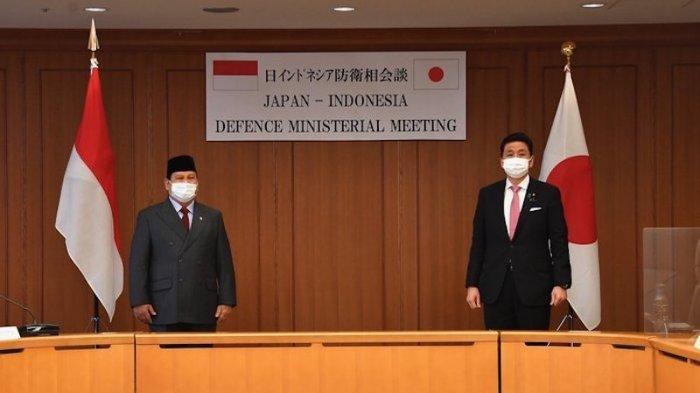 Di Tokyo, Prabowo Subianto dan Menhan Jepang Bahas Situasi Myanmar