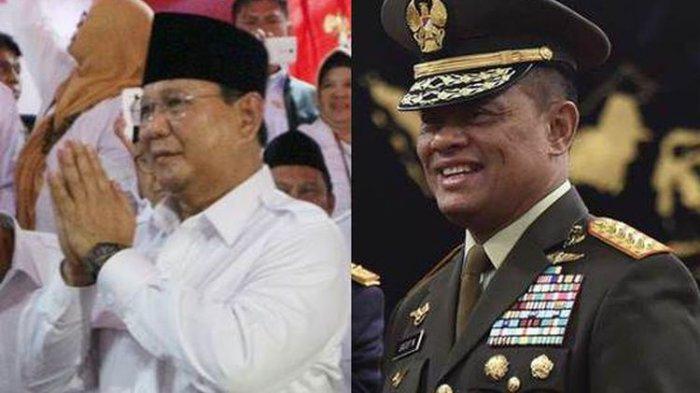 Prabowo-Gatot Duduk Bersanding di Peringatan HUT ke-66 Kopassus