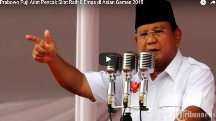 Prabowo Kembali Bercanda Soal  Kudeta