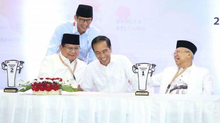 Jokowi - Ma'ruf Amin Tak akan Ajukan Pertanyaan Personal dalam Debat Pilpres 2019