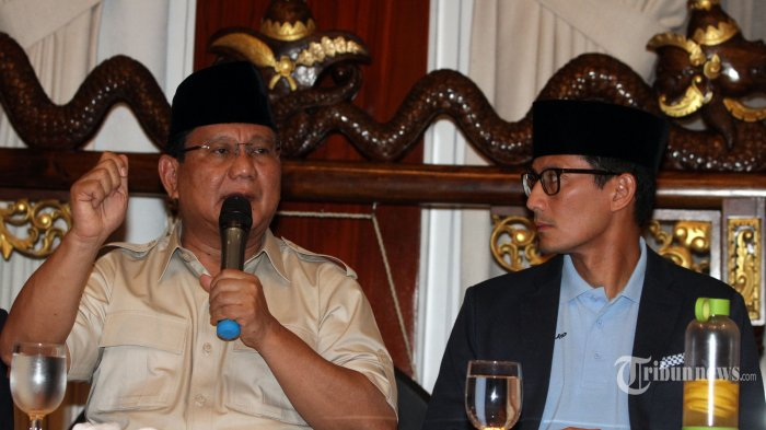 Beda Pendapat Isu Prabowo-Sandi Ajukan Gugatan ke MA:  Ini Kata Gerindra & Kuasa Hukum