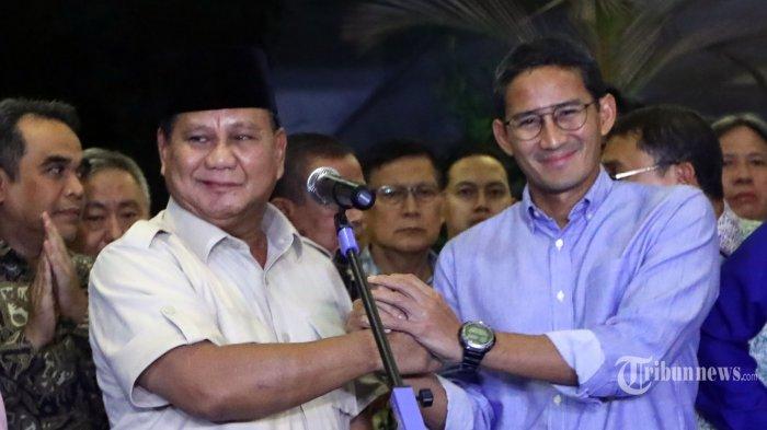Hasil Survei Internal: 60 Persen Pendukung Prabowo Legowo Hasil Pemilu 2019