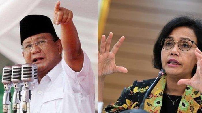 Survei IPO: Mayoritas Publik Puas Kinerja Sri Mulyani, Prabowo Jadi Menteri Paling Populer