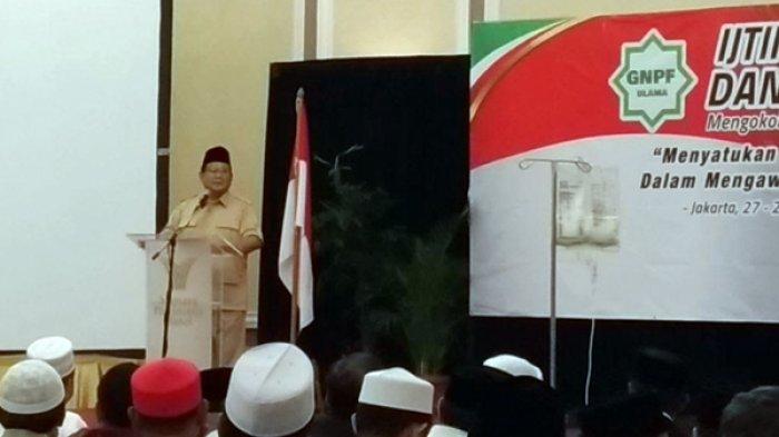 Pengamat Nilai Prabowo Sebaiknya Mempertimbangkan Secara Matang Rekomendasi Ijtima Ulama