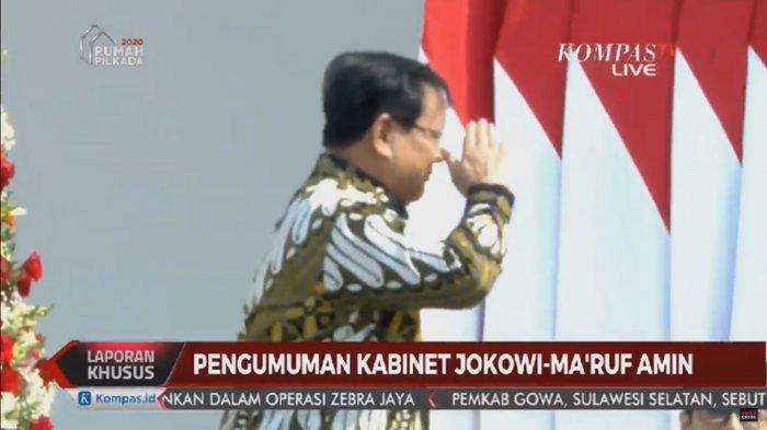 Sah, Prabowo Subianto Jadi Menteri Pertahanan di Kabinet