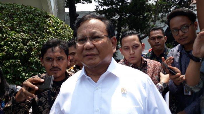 Prabowo Bantah Dirinya Tak Ambil Gaji Sebagai Menteri Pertahanan