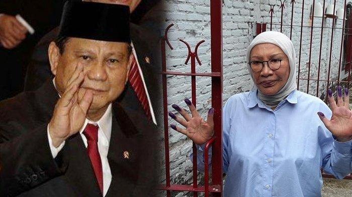 Ratna Sarumpaet Bebas, Ibunda Atiqah Hasiholan Beri Komentar soal Prabowo Masuk Kabinet Jokowi