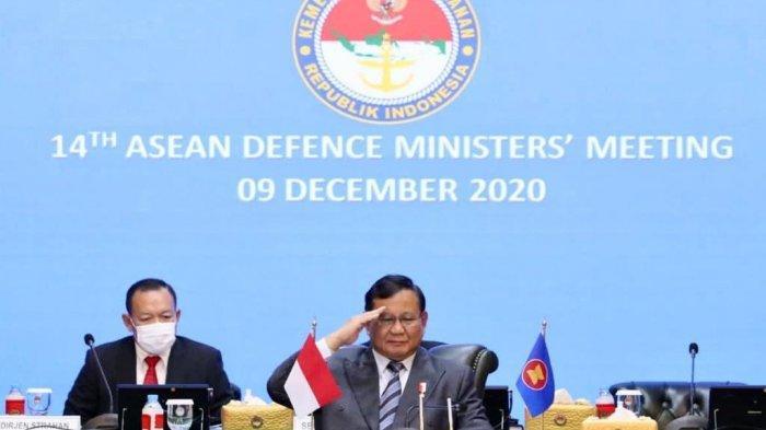 Menhan Prabowo Tegaskan Komitmen Indonesia Dukung Peningkatan Kerja Sama Negara ASEAN