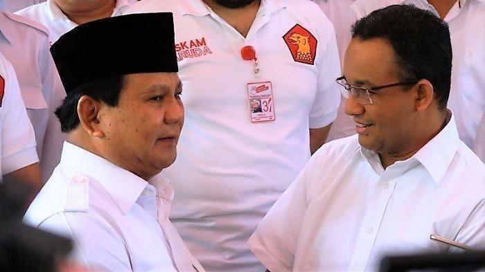 Inilah hasil survei elektabilitas Prabowo Subianto vs Anies Baswedan untuk Pilpres 2024 versi empat lembaga survei.
