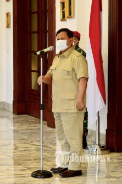 Survei LP3ES: Capres Terkuat 2024 Masih Dipegang Prabowo