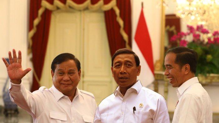 CALON MENTERI Jokowi, Prabowo Subianto Disebut Gantikan Wiranto sebagai Menkopolhukam
