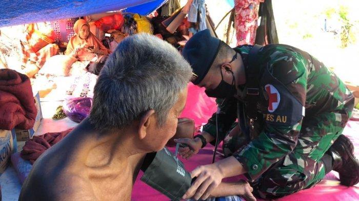 TNI AU Distribusikan Logistik dan Beri Pelayanan Medis Bagi Korban Bencana Alam di Kalsel dan Sulbar