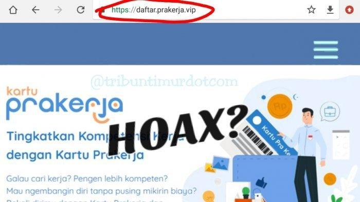 Ketika Pendaftaran Kartu Prakerja Gelombang 11 Dibuka, Daftar di prakerja.go.id, Bukan prakerja.vip