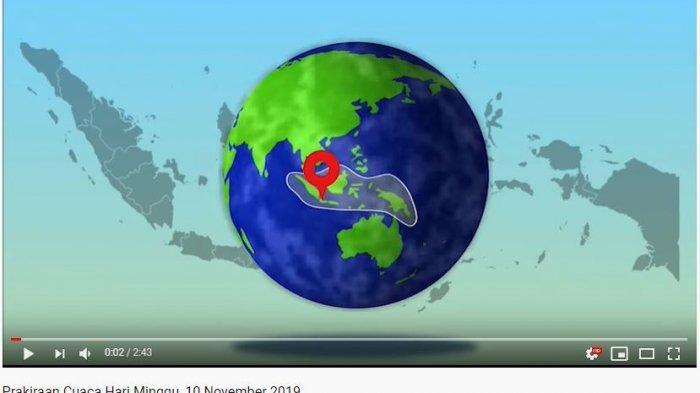 Prakiraan cuaca wilayah Indonesia