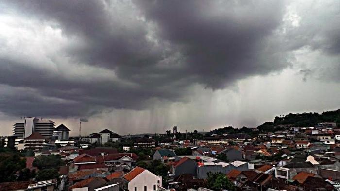 Ilustrasi Cuaca Mendung.