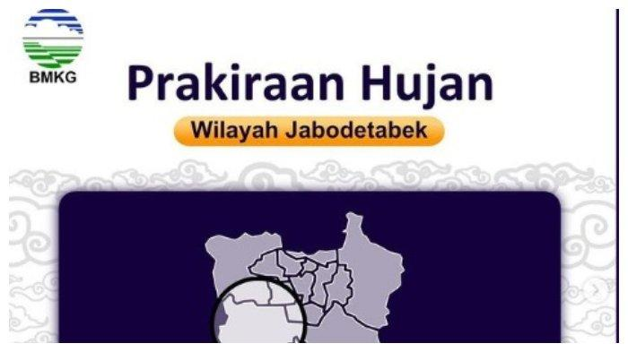 Prakiraan Cuaca Jabodetabek Minggu, 11 Juli 2021: Jakarta Barat Hujan Petir dan Depok Berawan