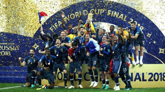 Timnas Prancis Juara Dunia: Lothar Matthaeus, Thibaut Courtois, dan Dejan Lovren Kritik Les Bleus