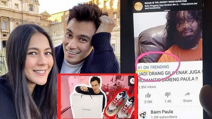 10 Youtubers Artis Berpenghasilan Tertinggi, Baim Paula Juara dan Segini Estimasi Pendapatannya