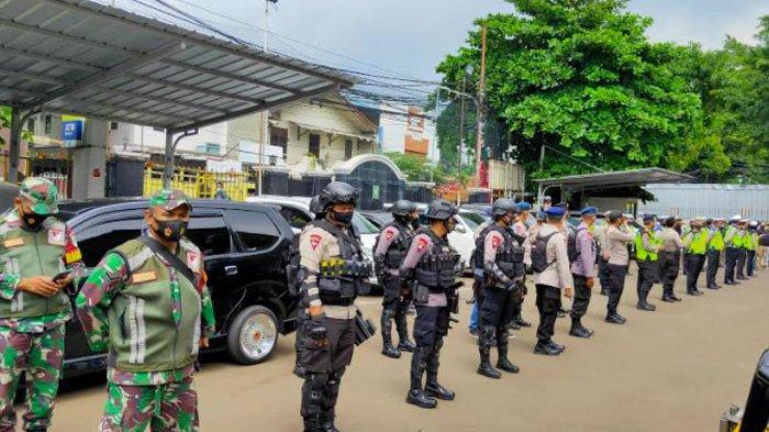 190 Personel Kepolisian Disiagakan Jaga Sidang Perdana Praperadilan Rizieq Shihab