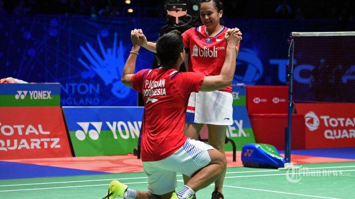 UPDATE Thailand Open 2021 - Jaga Fokus & Komunikasi jadi Kunci Sukses Praveen/Melati ke Semifinal
