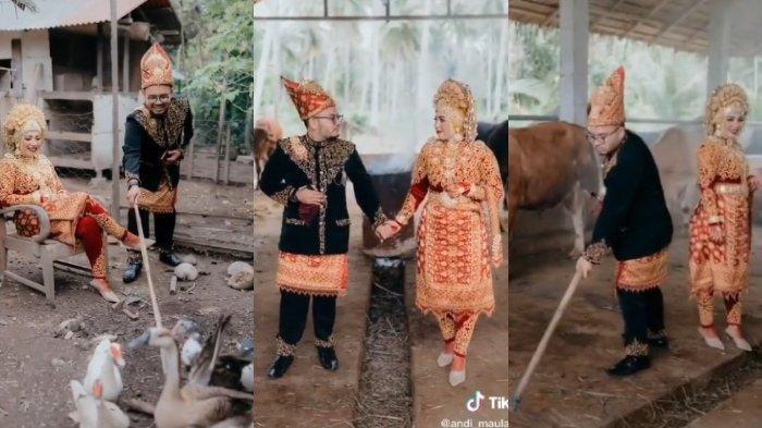 Cerita Fotografer soal Foto Prewedding di Kandang Bebek dan Sapi yang Viral: Was-was Dikejar Bebek