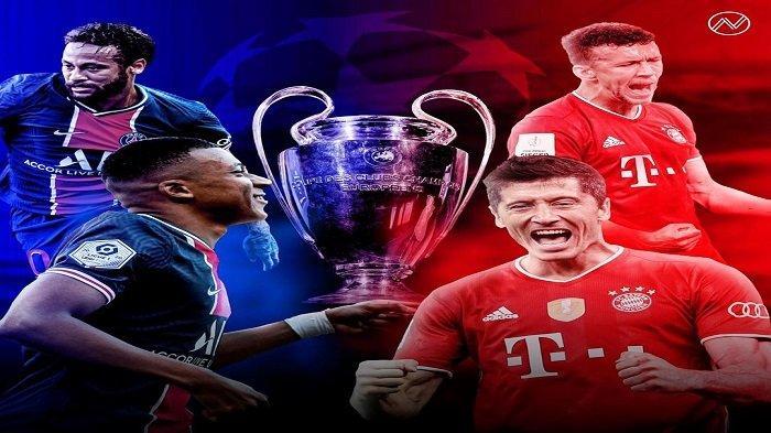 Live Streaming TV Online SCTV, Paris Saint-Germain vs Bayern Munchen, Liga Champions, Akses Sini